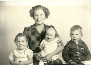 Laura & children