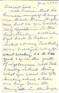 Margaret letter p1