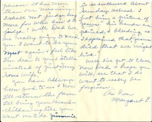 Margaret letter p4 & 5