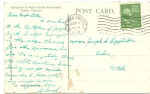 Orland postcard back
