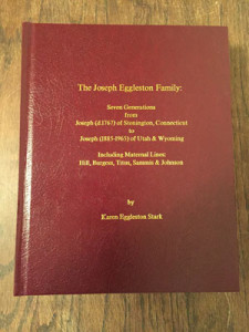 The Joseph Eggleston Family book