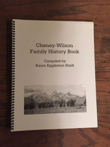 Cheney-Wilson Family History Book