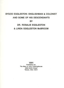 Bygod Eggleston by Dr. Rosalie Eggleston & Linda Eggleston McBroom