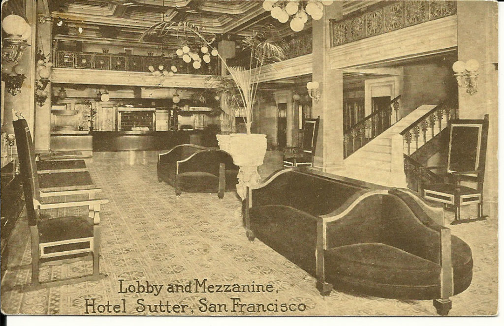 Hotel Sutter, San Francisco