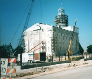 Nauvoo LDS Temple in 2001