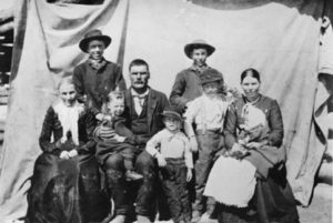 family of Selar and Mary Alice Wilson Cheney
